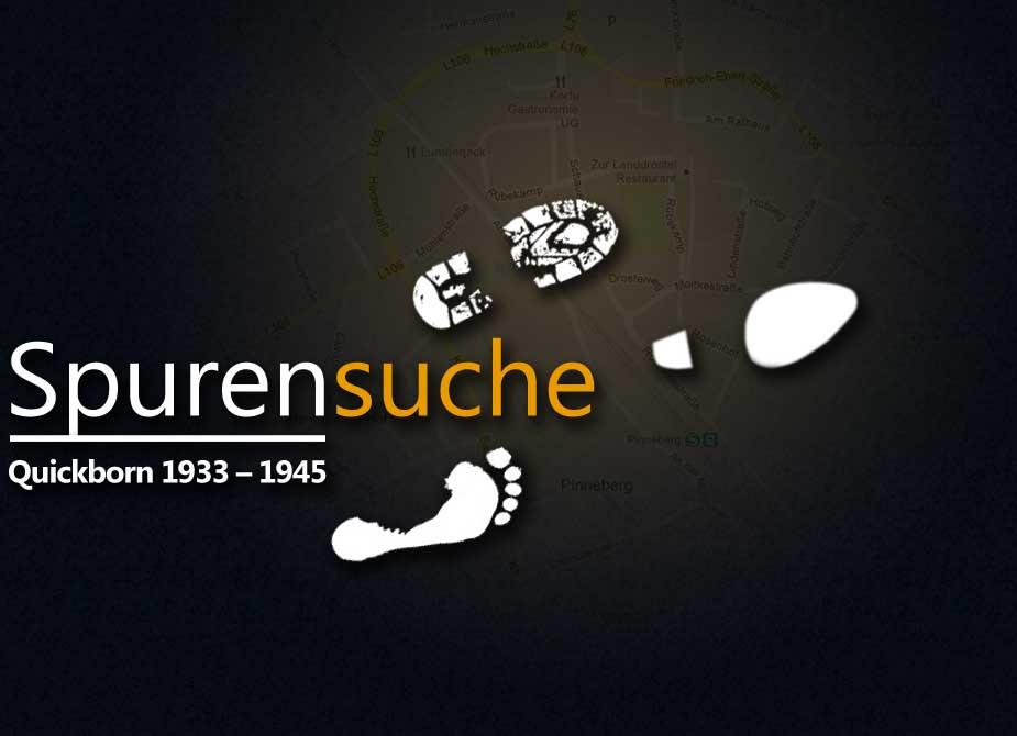 Logo der Spurensuche im Kreis Pinneberg und Umgebung