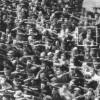 Werftarbeiter bei Blohm+Voss Stapellauf der Horst Wessel 13.06.1936(unbekannt/Süddeutsche Zeitung)
