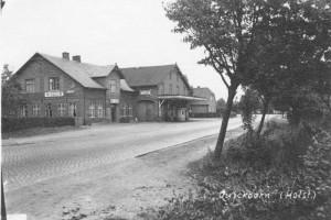 Quickborn - Grabbes Gasthof, ca. 1940er Jahre (Sammlung: Werner Berg)