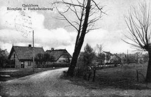 Quickborn - Börnplatz / Harksheider-Weg, ca. 1920er Jahre (Fotograf unbekannt)