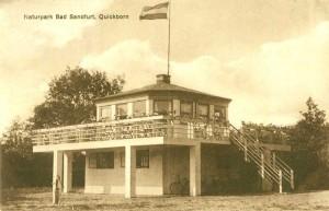 Quickborn - Bad Sandfurt, Tangstedter Straße, ca. Mitte der 1920er Jahre (Fotograf unbekannt)