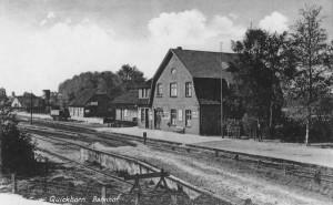 Bahnhof Quickborn, ca. 1920er Jahre (Foto: Rudolph Schildt)