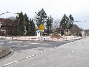 Quickborn - Kieler Straße / Marktstraße, 2013 (Foto: Jörg Penning)