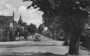 Quickborn - Kieler Straße, ca. Anfang der 1930er Jahre (Fotograf unbekannt)