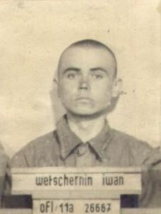 Iwan Wetschernin bei seiner Gefangennahme  (Foto obd memorial Podolsk)