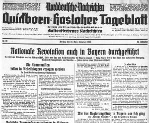 Quickborn-Hasloher Tageblatt 10.03.1933