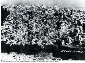 Helgoland nach der Zerstörung