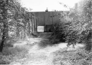 Hinrichtung der Widerständler:  Schießanlage Cuxhaven-Sahlenburg (Foto CN 1955)