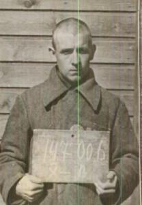 Letunov, Georgij, aus Russland - ehem. Kriegsgef. auf Helgoland