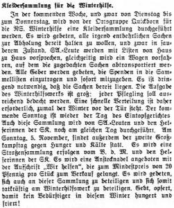 Sammlungen QHT 03-11-1933