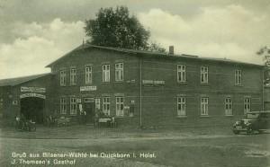 Thomsen's Gasthof (ehemals Hagens Gasthof), ca. 1930er Jahre (Foto: J. W. Jacobsen)