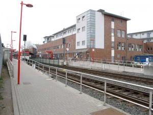 AKN-Bahnhof Quickborn, 2014 (Foto: Jörg Penning)