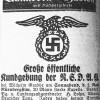 Dr. med. vet. Ernst Albers – Ortsgruppenleiter der NSDAP 1929 – 1930