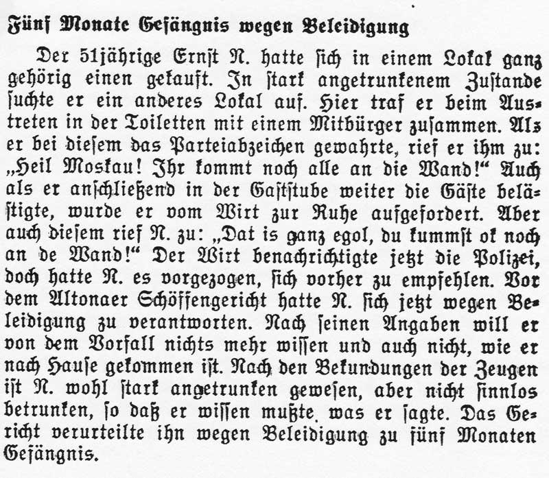 Quickborn-Hasloher Tageblatt, 30.11.1936