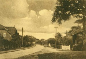 Pinneberger Straße, ca. 1920er Jahre (Foto: J. W. Jacobsen)