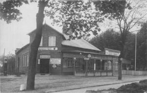 Der Schützenhof in der Kieler Straße, Quickborn ca. Ende der 1920er Jahre (Fotograf unbekannt)