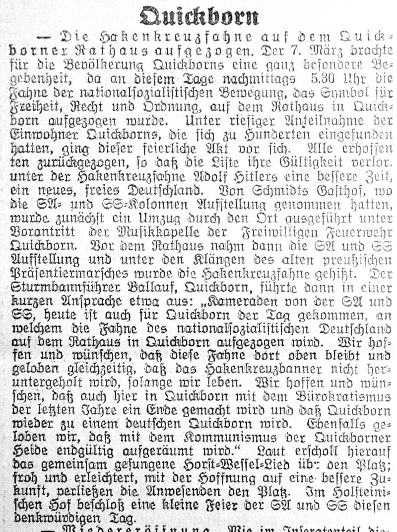 Pinneberger Tageblatt, 08.03.1933