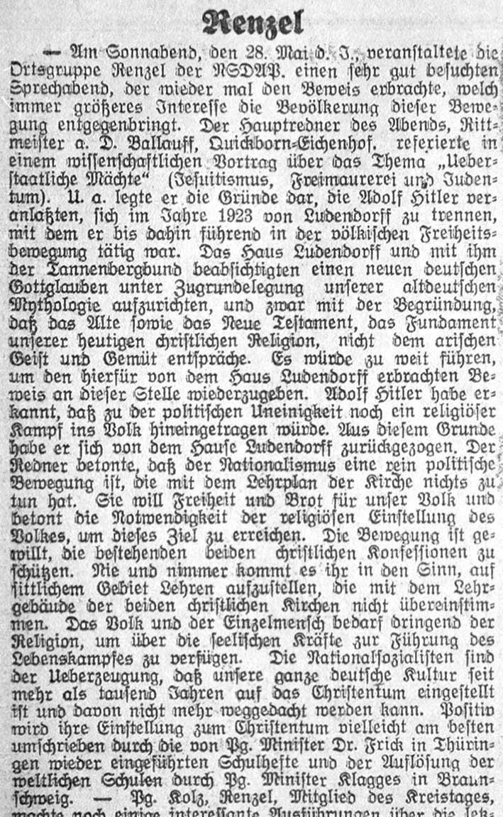 Pinneberger Tageblatt, 13.06.1932