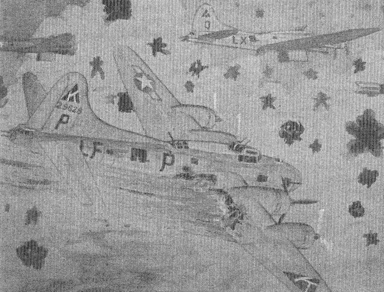 Zeichnung Stephen King - Absturz der B-17