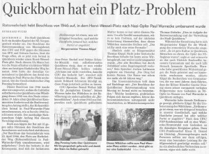 Hamburger Abendblatt, Regionalausgabe Pinneberg, 28./29.05.2014