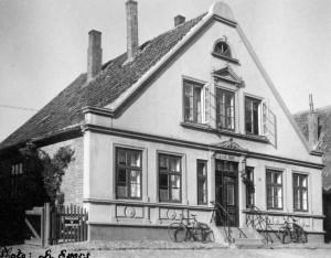 Horst ehemalige Kirchspielvogtei 1934 Elmshorner Str. 8 (Foto: H. Evers)